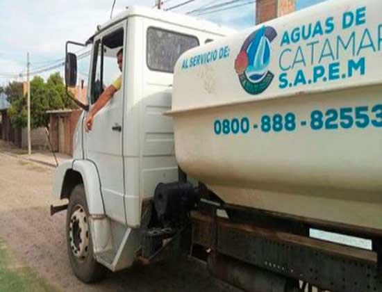 Servicio de camiones cisternas gratuito