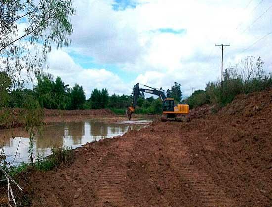 Agua Potable culminó tareas de reacondicionamiento en laguna presedimentadora de San Pedro