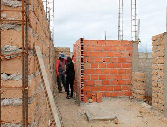 Avance en las obras de viviendas energéticamente eficientes