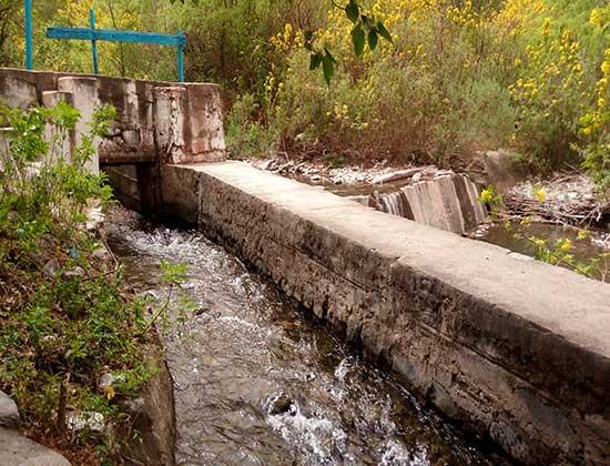 Hechos vandálicos en la toma de agua del Rio El Tala