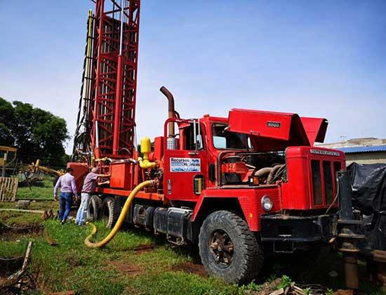 El camión perforador de la provincia seguirá operativo