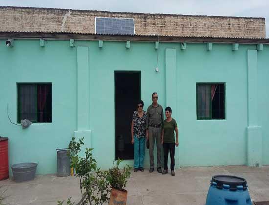 Continúan las instalaciones de equipos solares fotovoltaicos en el interior de la provincia